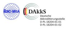 Logo of the DAkkS